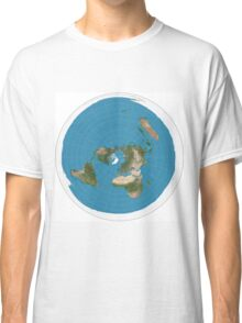 Flat earth time for change Classic T-Shirt