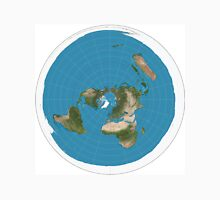 Flat earth time for change Unisex T-Shirt