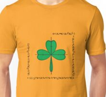Mathematical shamrock  Unisex T-Shirt