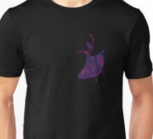 Dancing Star Night Girl Unisex T-Shirt