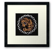 MMA Fighting Bear  Framed Print