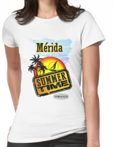 Merida, Mexico Womens Fitted T-Shirt