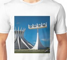 Belltower of the Cathedral of Brasília Unisex T-Shirt