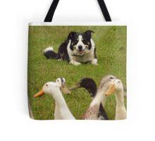 Flock watching Tote Bag