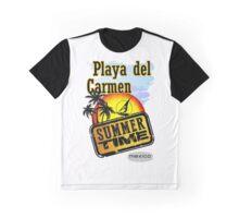 Playa del Carmen, Mexico Graphic T-Shirt