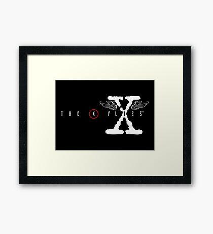 The X Flies Framed Print