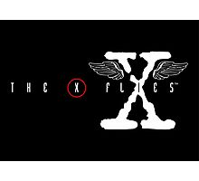 The X Flies Photographic Print