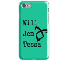 Infernal Devices Characters iPhone Case/Skin