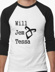 Infernal Devices Characters Men's Baseball ¾ T-Shirt