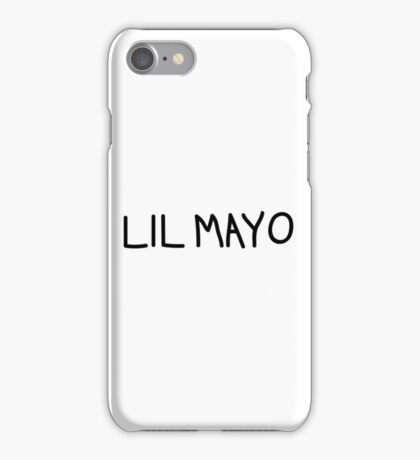 Lil Mayo iPhone Case/Skin