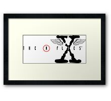 The X Flies Framed Print