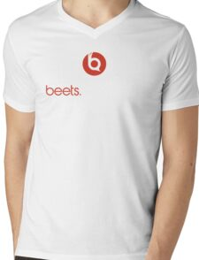 Beets By Schrute Mens V-Neck T-Shirt