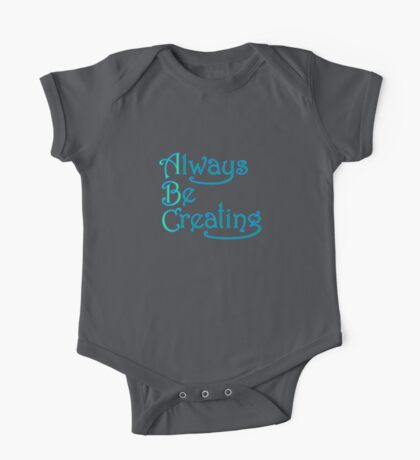 Always Be Creating Kids Clothes