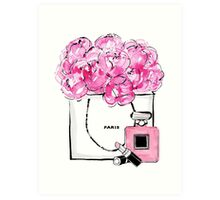 Paris {accesories} Art Print