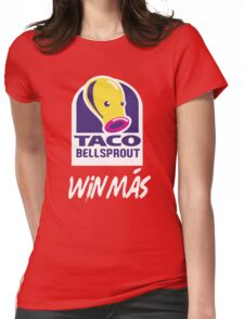 Taco BellSprout (Vertical Win Más) Womens Fitted T-Shirt