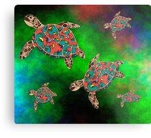 Turtles Metal Print