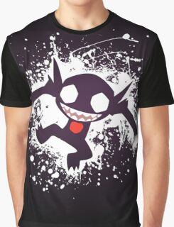 Sableye Splatter Graphic T-Shirt