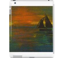 Sail Away at Twilight iPad Case/Skin