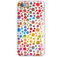Colored balls pattern design iPhone Case/Skin