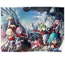 guilty Crown Ultimate Anime Crossover Poster