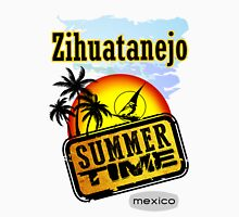 Zihuatanejo, Mexico Women's Fitted V-Neck T-Shirt