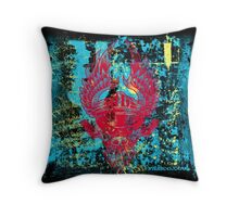 Tattoo crazy styling Throw Pillow