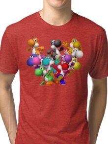 Yoshi Fever Tri-blend T-Shirt