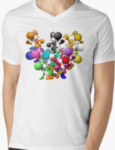 Yoshi Fever Mens V-Neck T-Shirt