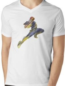 The Knee Mens V-Neck T-Shirt