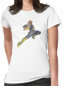 The Knee Womens Fitted T-Shirt