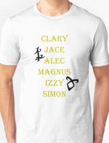 Shadowhunter Names T-Shirt