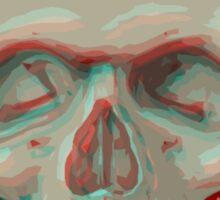 Skull 3D Sticker