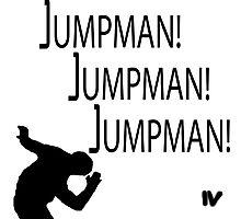 Jumpman! x3 Photographic Print
