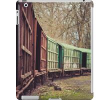 old train iPad Case/Skin