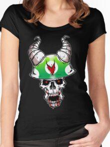 Vinesauce Mushroom Women's Fitted Scoop T-Shirt