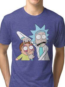 Rick and morty Tri-blend T-Shirt