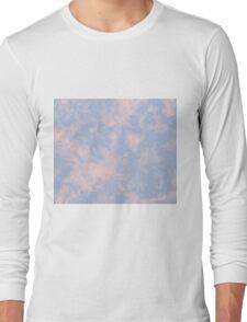 Rose Quartz Serenity Marble Long Sleeve T-Shirt