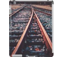 railroad lines iPad Case/Skin