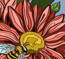 Flowers & Bees Sticker