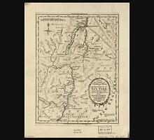 American Revolutionary War Era Maps 1750-1786 642 Part of the counties of Charlotte and Albany in the Province of New York being the seat of war between the Unisex T-Shirt