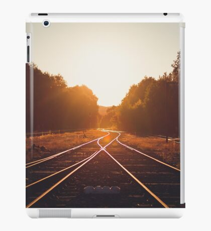 warm rails iPad Case/Skin