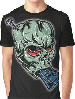 Skull & Cassette Graphic T-Shirt