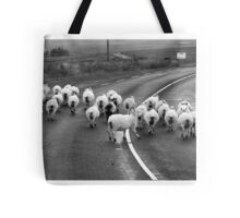 Donegal style Traffic Jam Tote Bag