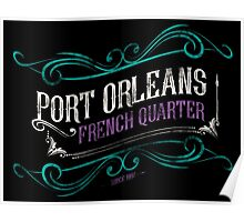 Port Orleans French Quarter Poster
