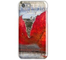Ice & Leaves iPhone Case/Skin
