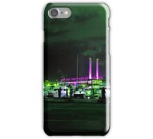 Nightly Fishing at Docklands, Melbourne iPhone Case/Skin