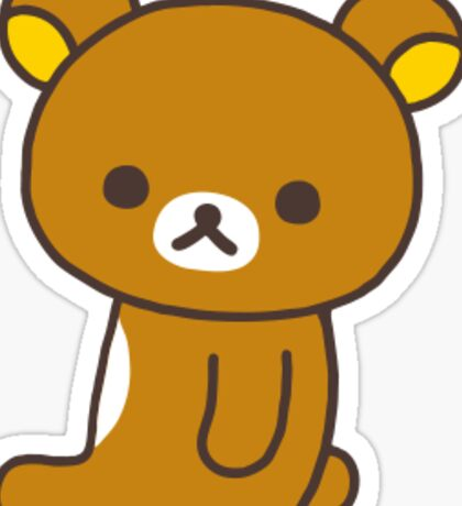 Rilakkuma sitting Sticker