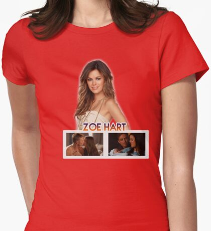 Zoe Hart - Hart of Dixie Womens Fitted T-Shirt