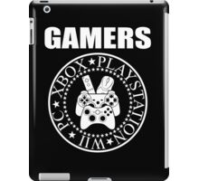 GAMERS RAMONES iPad Case/Skin