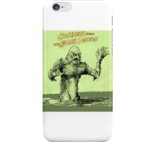 The gillman ! iPhone Case/Skin